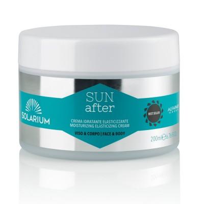 Solarium Sun After Увлажняющий увлажняющий крем для эластификации после загара.