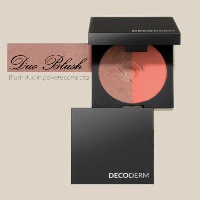 Decoderm дуэт Blush в компактной пудре Col.02
