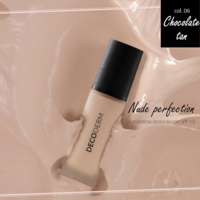 Decoderm Nude Perfection увлажняющий фундамент Spf15 Col.06