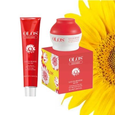 Luce Di Girasole-Гребная маска + кремовый гель, освещающий дефибрилятор для лица